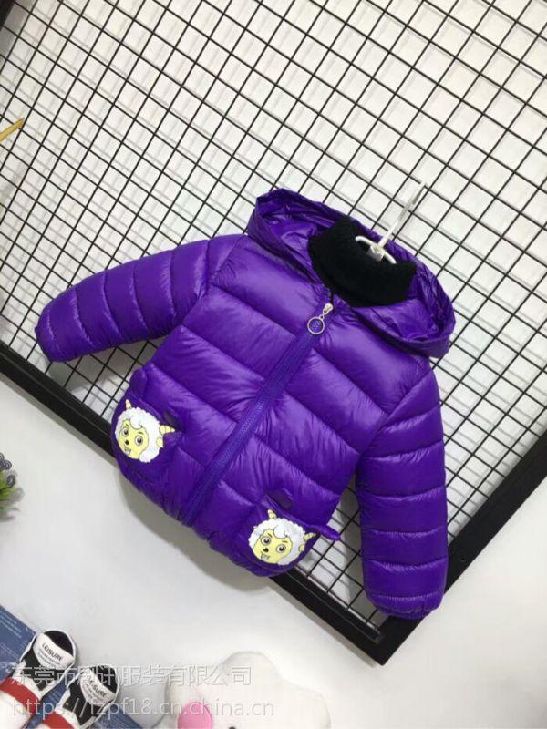 剧讯高品质 小童男女通穿小熊连帽轻薄棉衣外套