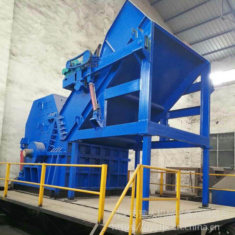 1800重型钢铁破碎机 金属粉碎机 汽车破碎机生产线 豫太厂家