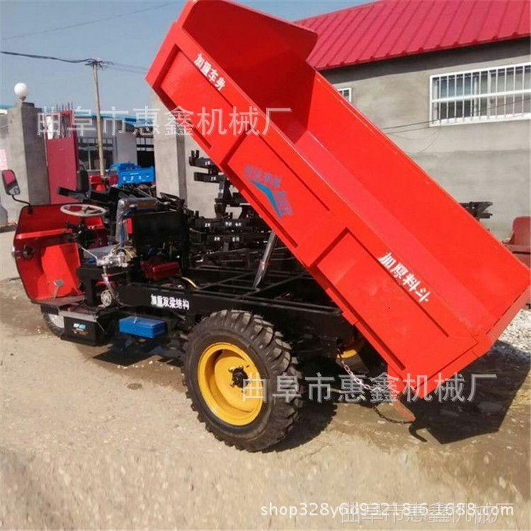 工地输送柴油三轮车 多用途工程三轮车 狭巷柴油自动卸载三轮车