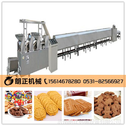 汕头饼干烘烤设备 饼干生产线型号 优惠销售