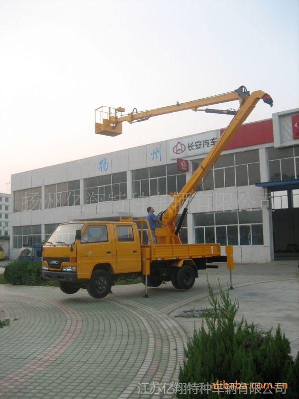 供应16米江铃或者东风高空作业车 12-18米东风曲臂式平台车