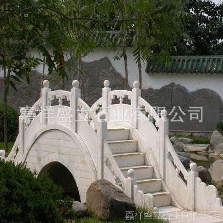 厂家制作安装河堤拱桥石栏杆 庭院小桥栏杆 可批发