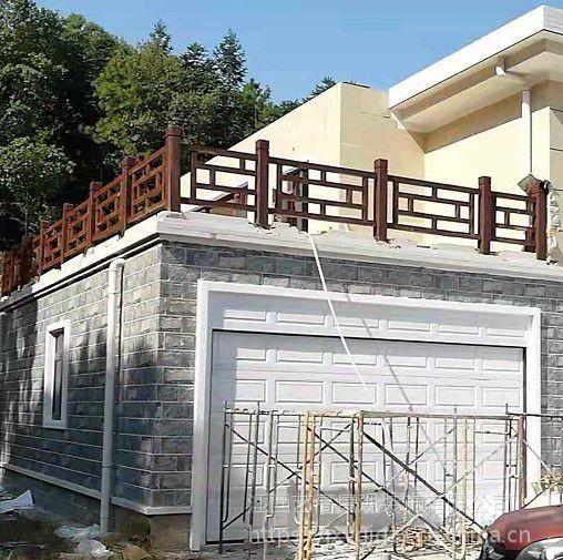云浮楼房阳台仿木栏杆效果_潮州回字型仿木栏杆_江门水泥仿木阳台栏杆好多钱一米