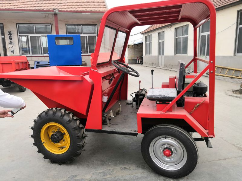 圣贝机械翻斗车适合工地,工程的运输车