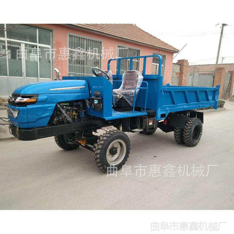 25马力农用自卸运输车 多功能建筑工地四不像 拉水泥专用四不像车