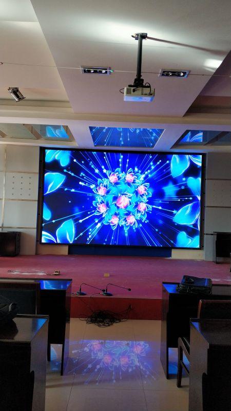 室内p3全彩显示屏显示效果