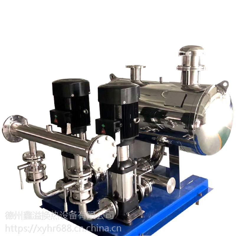 鑫溢 智能变频供水设备 二次无负压供水设备 优势