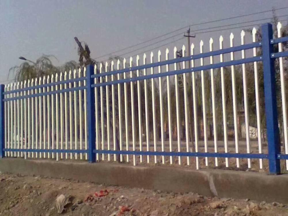 现货锌钢护栏网小区围墙护栏 学校工厂驾校专用锌钢护栏