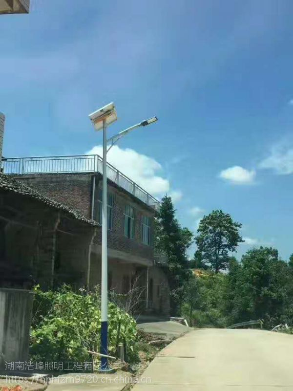 太阳能路灯质量 太阳能路灯价格株洲炎陵led路灯公司