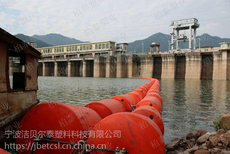 新型水库拦截垃圾浮排 水电站拦污排厂家
