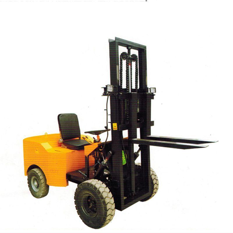 四轮座驾平衡式全电动升降行走电动叉车电动托盘搬运车