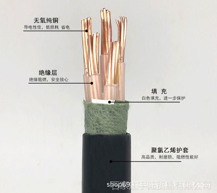 天联ZRYFVP阻燃电缆KFFRP耐高温屏蔽电缆标准