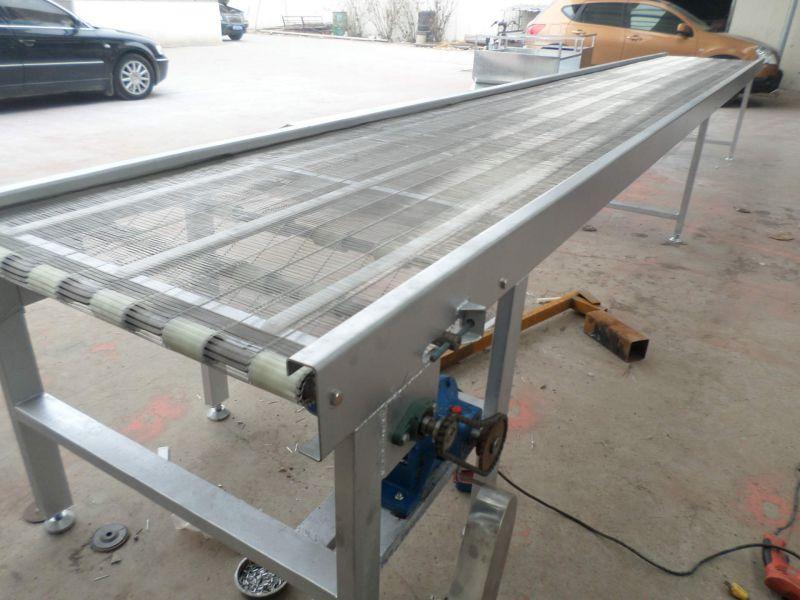 湖州爬坡网带输送机 厂家食品专用输送机
