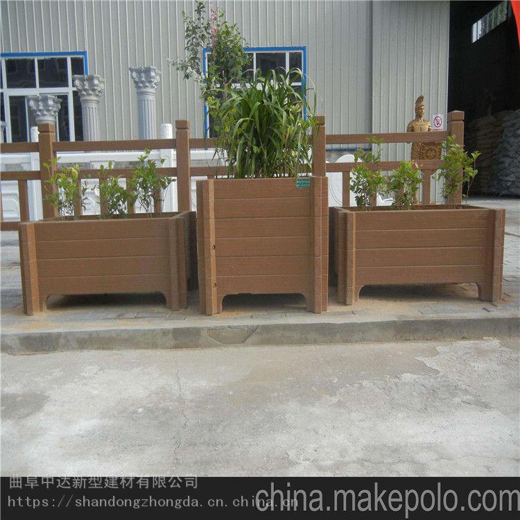 宣城混凝土仿木花箱 高品质仿木花槽 新农村花箱
