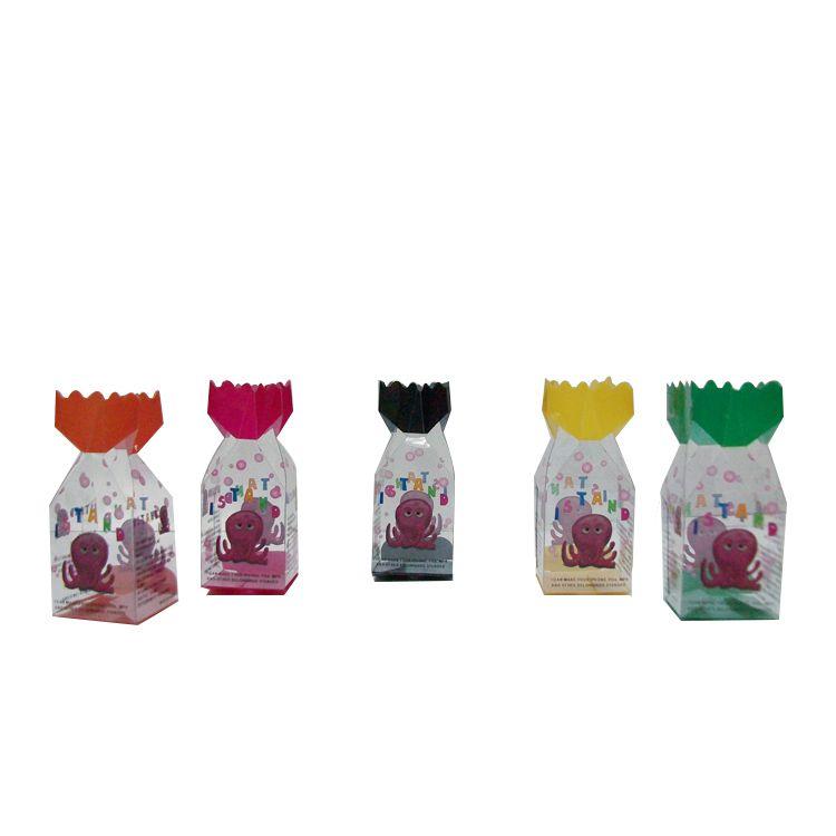 圣诞节礼品塑料包装盒厂家定做糖果透明盒子 不规则PVC包装盒批发