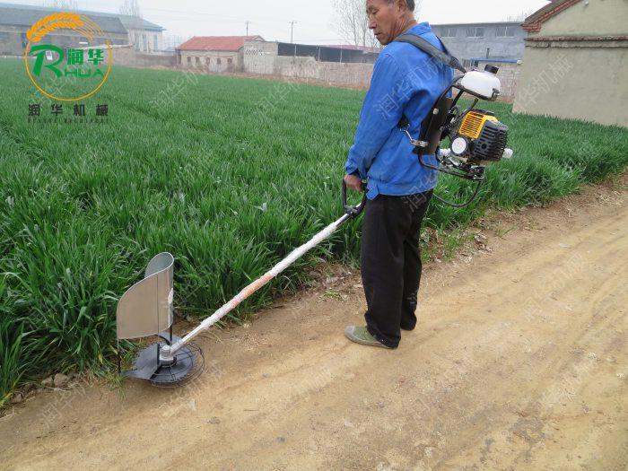 汽油背负式割草机  园林绿化轻松除草机  苗圃背负式除草机
