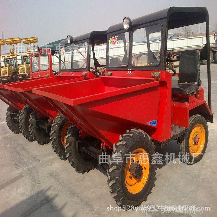 定做各种型号翻斗车 养殖场专用柴油三轮车 短途输送的翻斗车