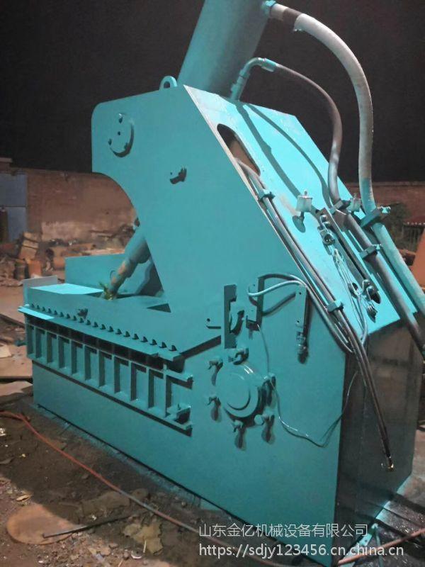 天津废铁大型鳄鱼剪切机 400吨大型鳄鱼剪多少钱 山东金亿机械定制