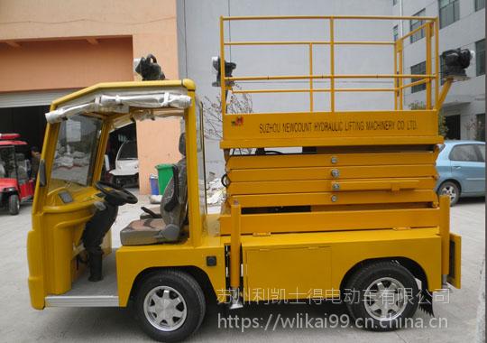 利凯士得2座5米升降车工地厂房专用 电动货车生产厂家