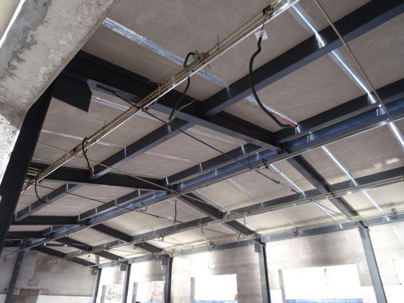 清华大学小仓库钢骨架轻型屋面板GWB6015-1