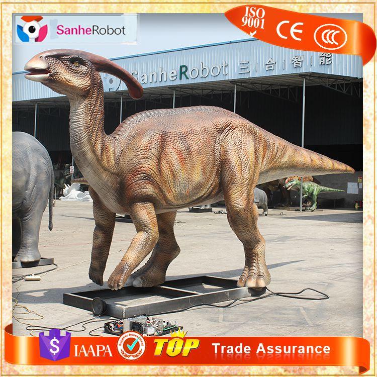 仿真恐龙模型  仿真副龙栉龙