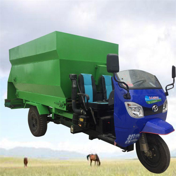 质量为先撒料车厂家 小牛场定制电动撒料车
