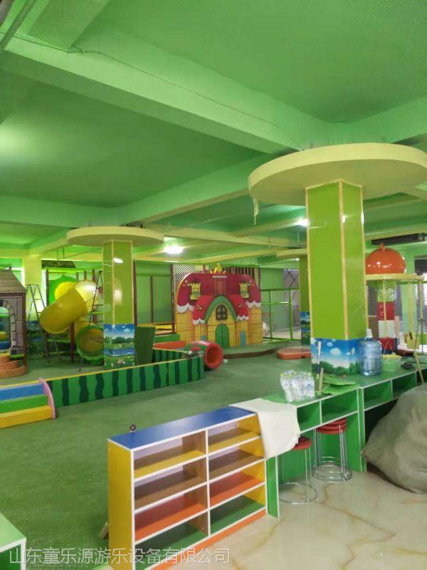 淘气堡设备 烟台亲子互动乐园游乐设备 儿童滑梯