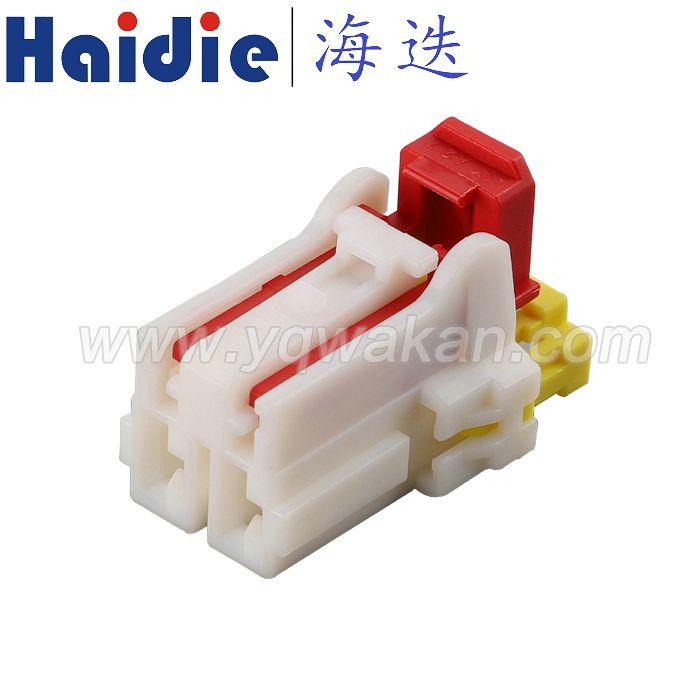 KET 2芯汽车连接器 MG650901/Haidie 母端线束接插件