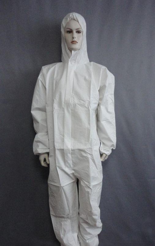 防护服透气防泼溅面料透气pe膜复合无纺布