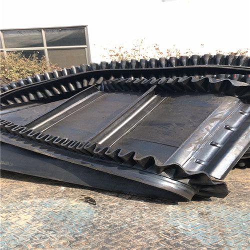 开封固定式挡边输送机 袋装物料建材专用