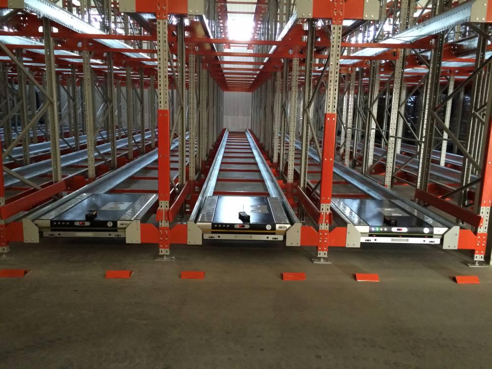 仓储货架 穿梭车货架 重型货架  自动化存取