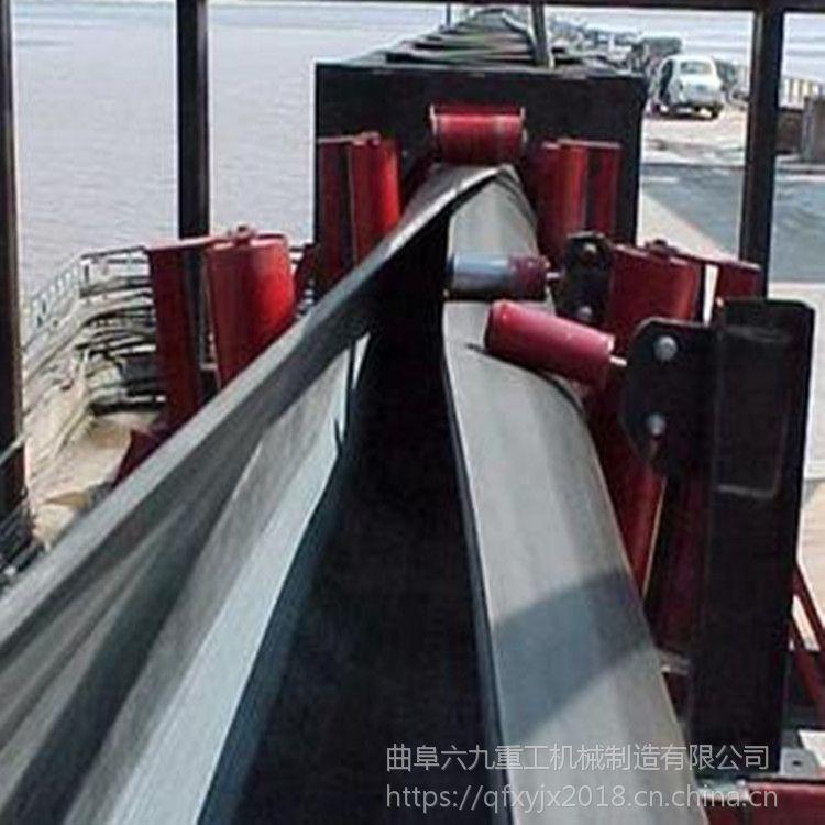 管状带式输送机避免漏料 规格齐全