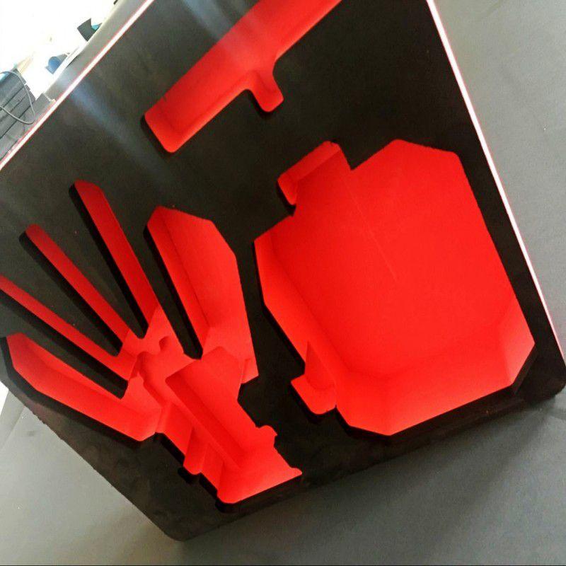 EVA海绵内衬雕刻异型加工防静电EVA包装内衬