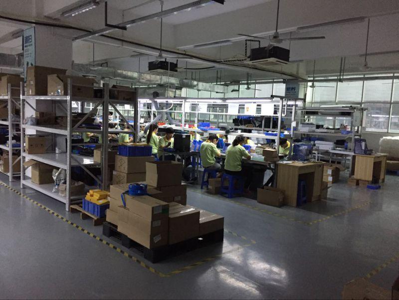 深圳市光明新区光明街道华尔特工业园C栋4楼工厂生产线