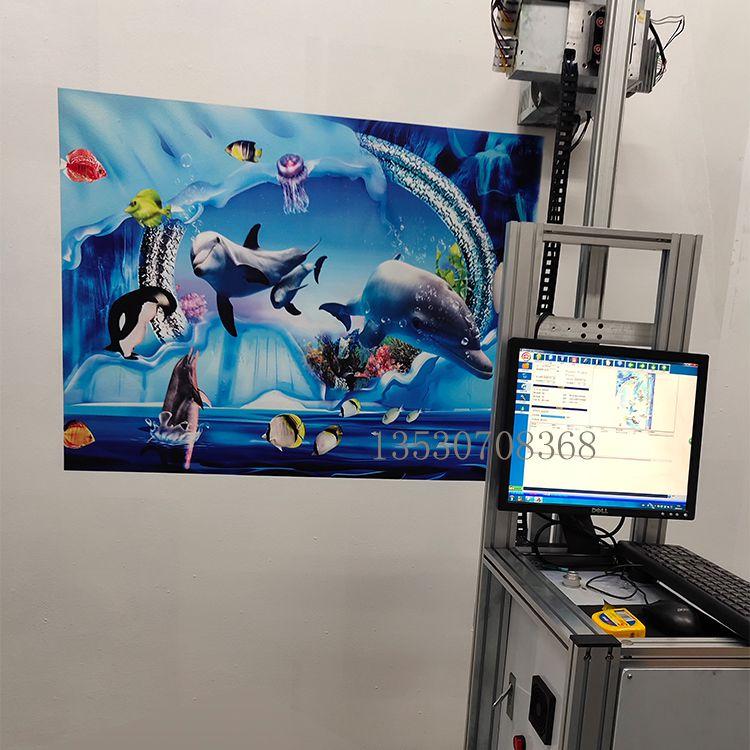 3D墙面喷绘机户外广告喷绘机背景墙打印机