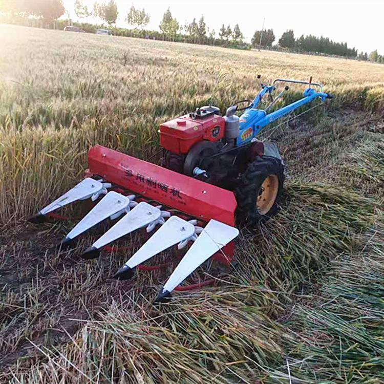 多用途汽油动力割草机 农用辣椒大豆收割机