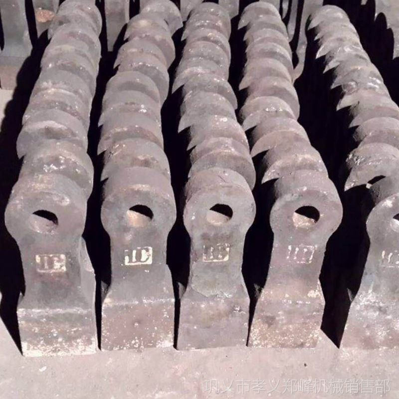 现货热销双击破碎机锤头 复合耐磨合金锤头 金属粉碎机高铬锤头