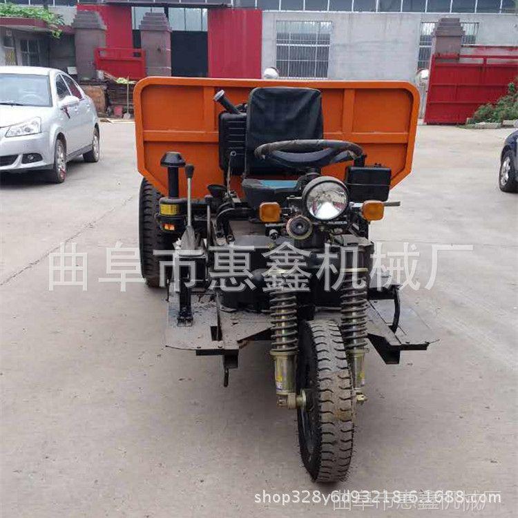 潍坊优质抗磨的柴油三轮车 直销工程翻斗三轮车 工地自卸三轮车2T