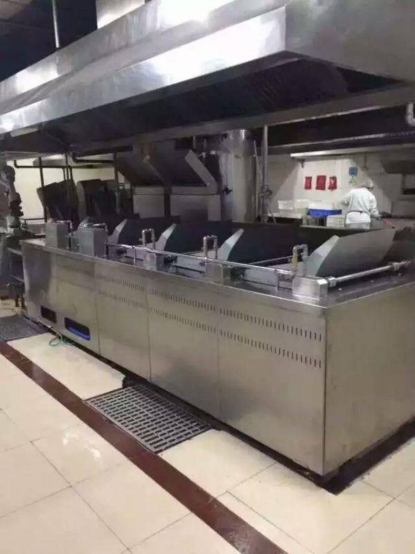 连续式燃气自动煮面生产线