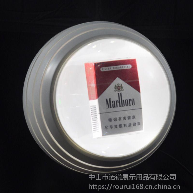 广东中山定制高端创意LED香烟亚克力展示道具