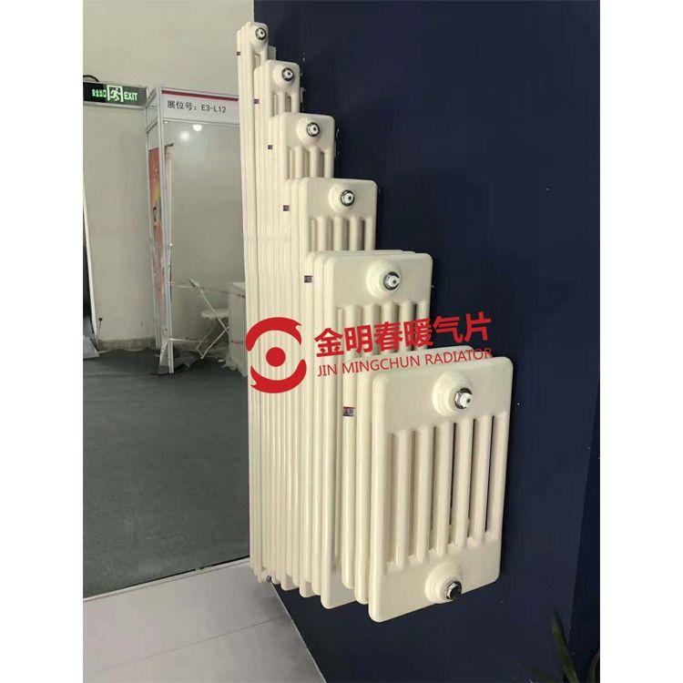 钢制柱型暖气片@QFGZ215暖气片厂家@钢制暖气片批发定制