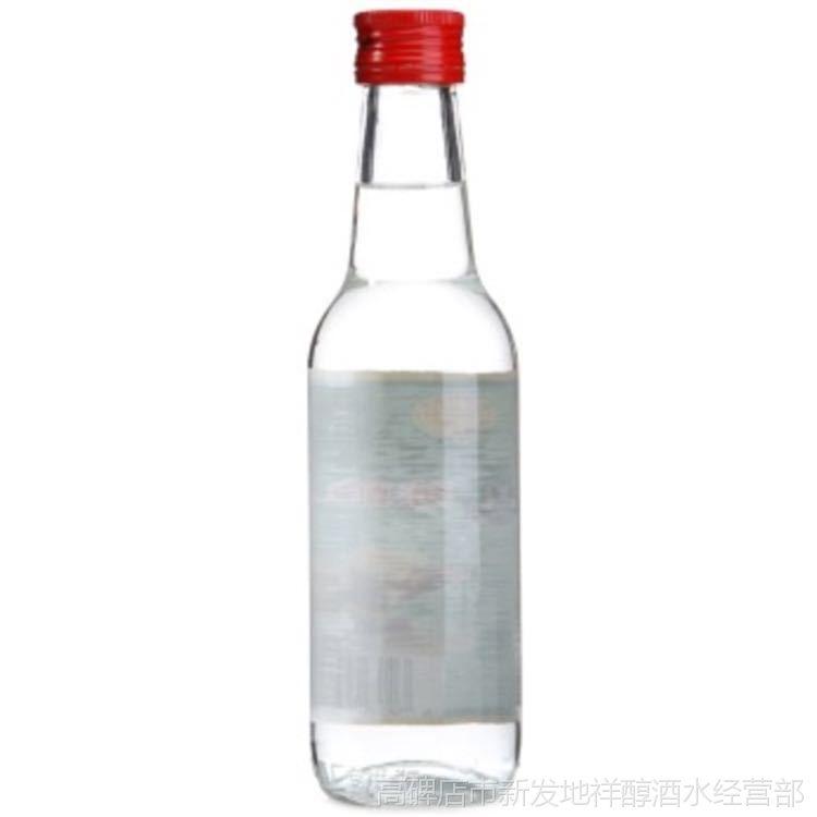 牛栏山二锅头白牛二半斤陈酿老酒42度浓香型度白酒 265ml20瓶装