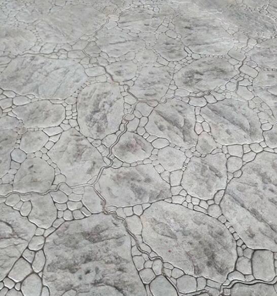 内蒙古乌兰察布市卓资县压花混凝土路面施工
