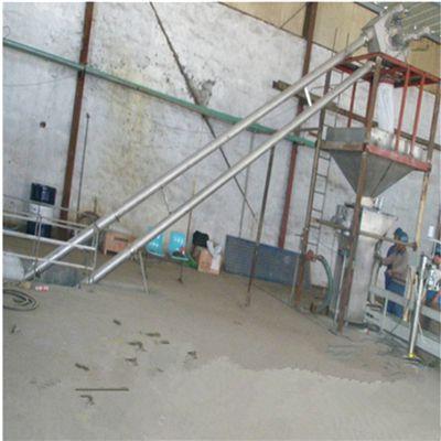 粉末管链输送机公司加厚 石灰粉盘链提升机宝鸡