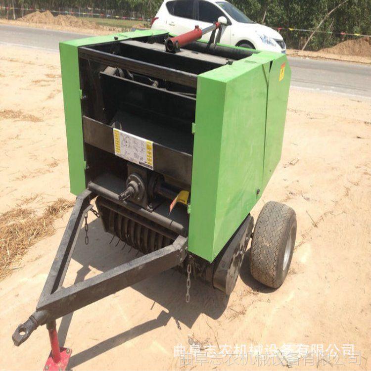 稻草打捆机厂家 自动捡拾秸秆打捆机价格 志农牌ZN型麦秆捆扎机
