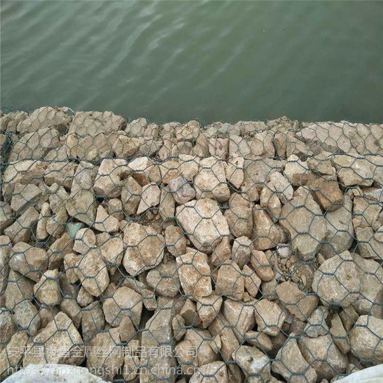 【卓昌】格宾笼护坡_高尔凡格宾石笼价格_生态河岸宾格笼网