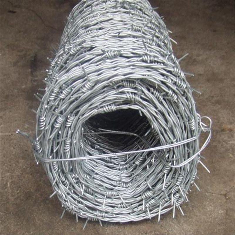 热镀锌刺绳 带刺铁丝线 带刺铁丝网