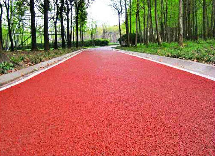 沥青路面改色测试及效果,沥青专业改色剂