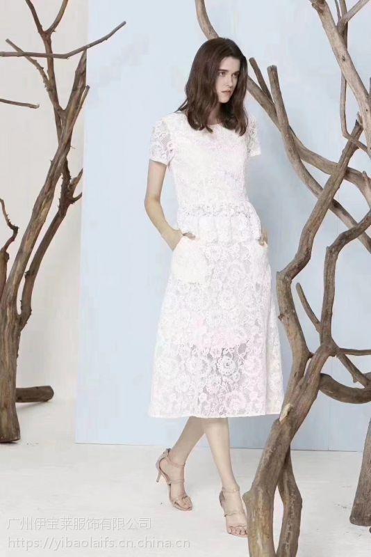 杭州知名(哈祥喜)品牌折扣一手货源 成熟女装尾货