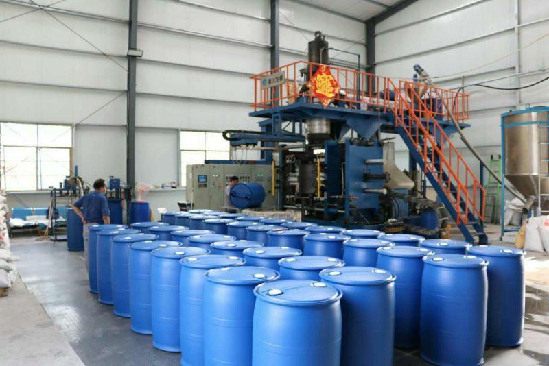 200升塑料桶生产实况